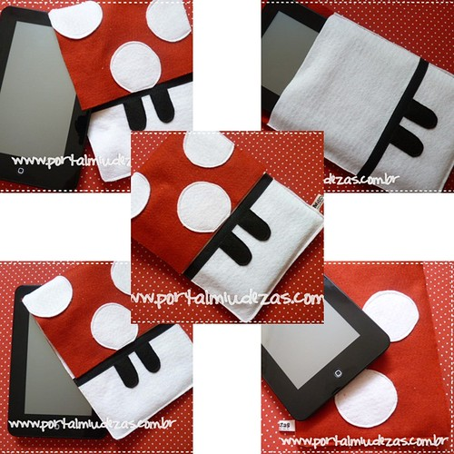 Guarde seu Tablet com fofurice!! by miudezas_miudezas