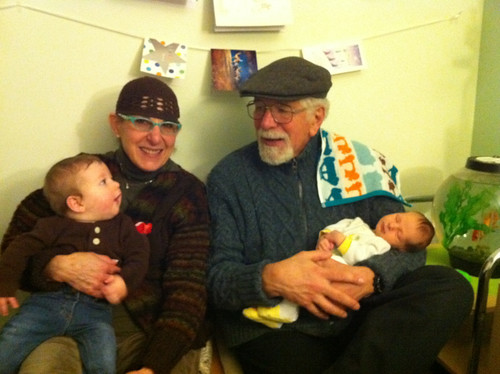 Grandparents, Grandsons and Bob