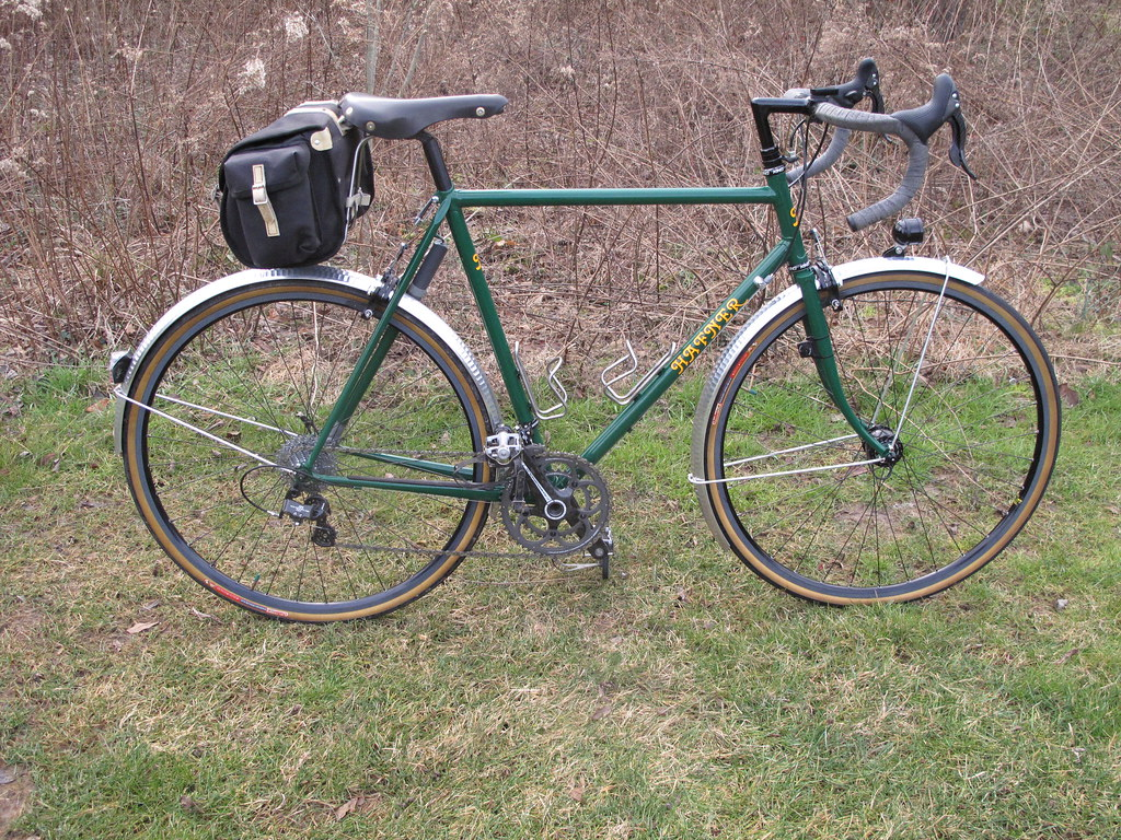 ... HOMEMADE BICYCLE | Homemade Bicycle Fenders : Giant Rincon Bike Review
