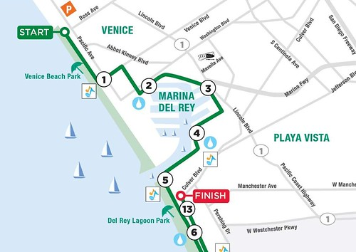 13.1 Los Angeles Half Marathon: January 15th, 2012