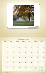 ADIDAP Calendar 2012 UK Retro November