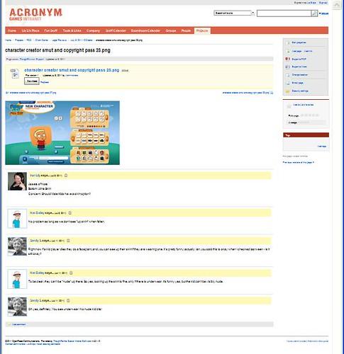Client Screenshot - ACRONYM Games