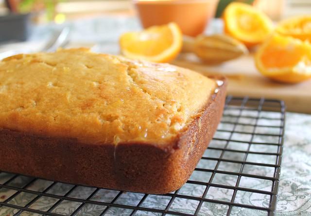 Easy Orange Pound Cake