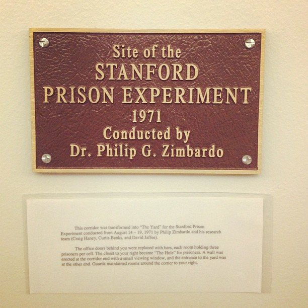 Stanford Prison Experiment #GoodTimes from Flickr via Wylio