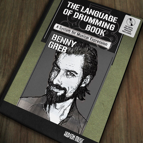 "Cover Artwork of Benny Greb's ""The Language of Drumming Book"" made by Tom Mayer, Meza Boogie. Published by Hudson Music New York. (c)2012 Tom Mayer, All Rights Reserved"