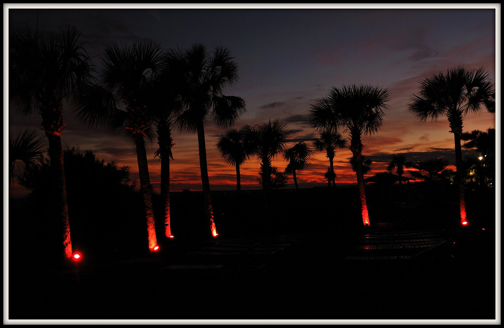 At Sunset, Myrtle Beach, South Carolina, December 2011