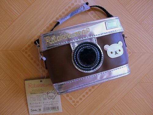 korilakkuma brown camera pouch2
