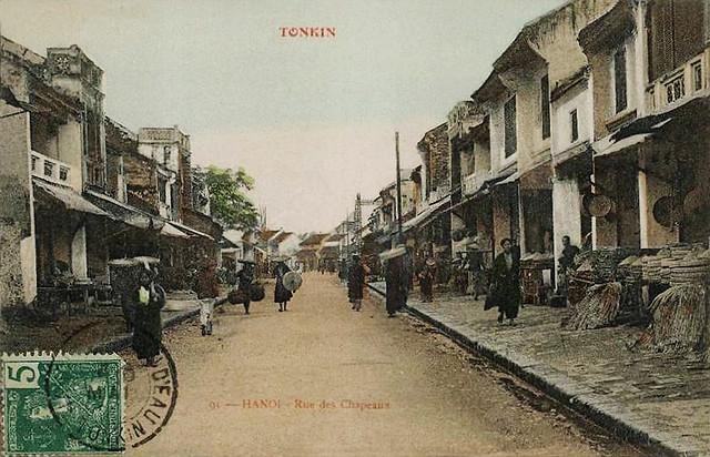 HANOI  - Rue des Chapeaux