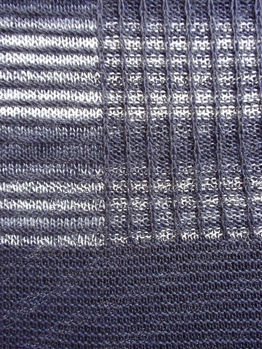 Large shawl close-up