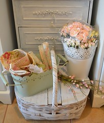 furniture, gift basket, basket,