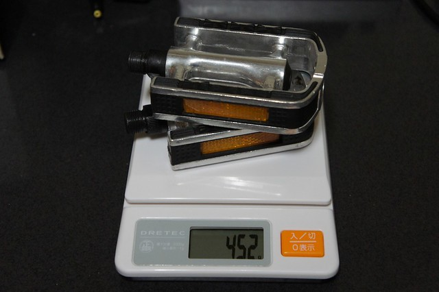 Bruno ROAD20(2011) 標準ペダルの重さ