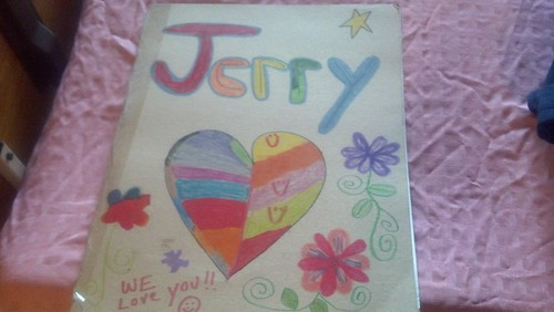 Jerry: Get well card cover