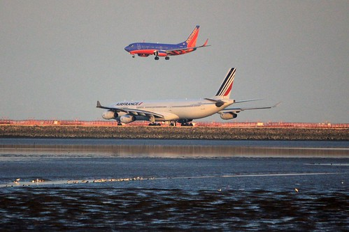 Southwest over Air France
