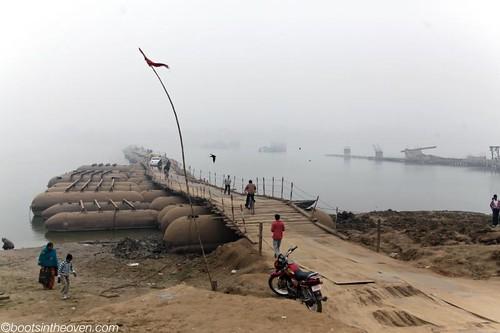 Pontoon Bridge across the Ganges