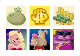 free Fat Cat slot game symbols