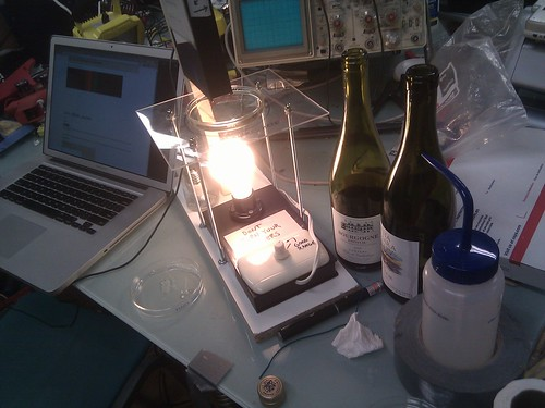 Pirateship wine spectroscopy night