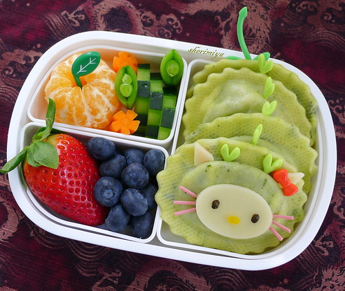 Hello Kitty Dragon Bento by sherimiya ♥