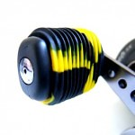 Black Yellow Fishing Reel Grip