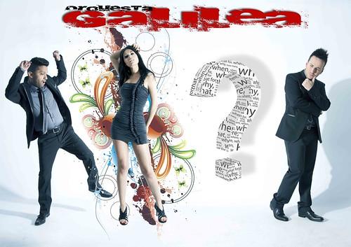 Orquesta Galilea 2012 - cartel presentación vocalista