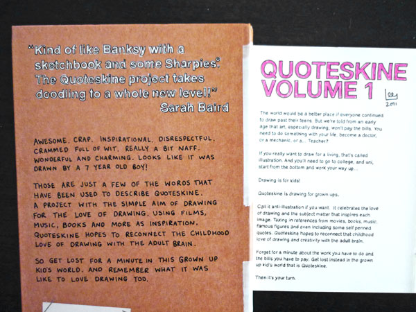 Quoteskine by Lee Crutchley