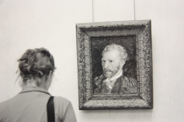 Moment with van gogh
