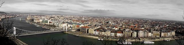 Budapest no blue panorama