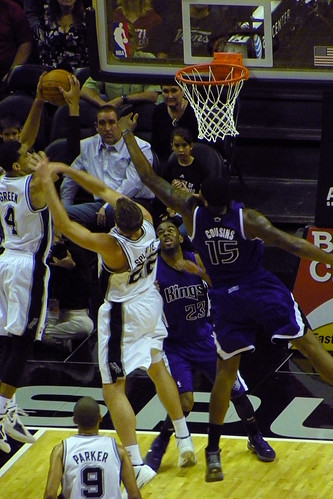 Spurs vs. Kings by Mark Bonica