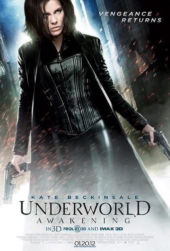 Underworld Awakening Movie poster.