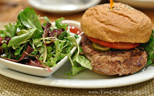 Turkey Burger at Good Earth ~ Roseville, MN