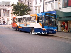 20647 R647 HCD Volvo B10M Northern Counties Paladin. Arndale EASTBOURNE 1