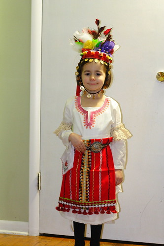 Homemade Bulgarian Costume35