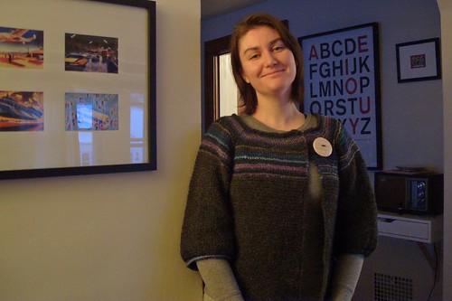 gartery buttony swingy by gradschoolknitter