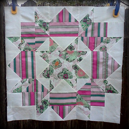 Swoon Block #1 by jenniferworthen