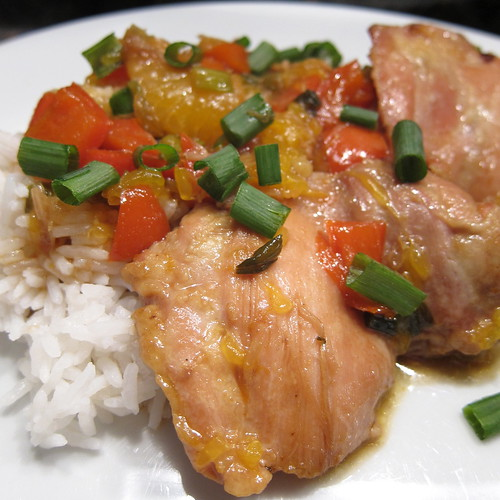 Clementine Braised Chicken