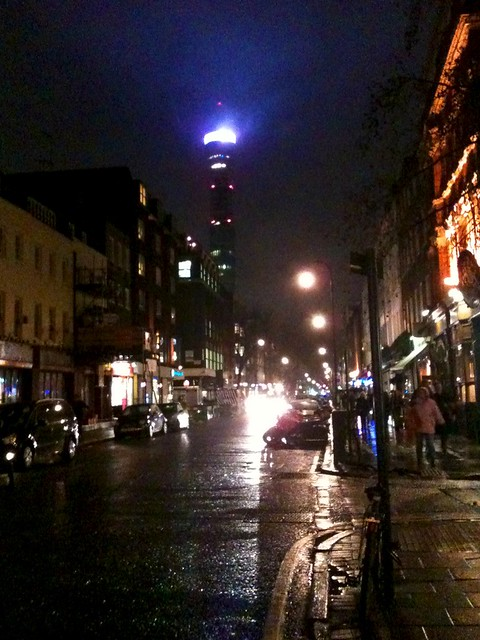 BT Tower, Charlotte Street
