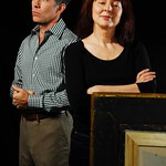 An iconic Edward Hopper painting causes years of marital strife for Marjorie (Leslie Lyles) and Daniel (Bruce McKenzie) in the Huntington Theatre Company's production of