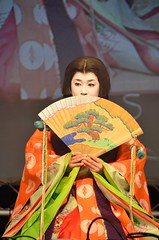 Kimono demonstration