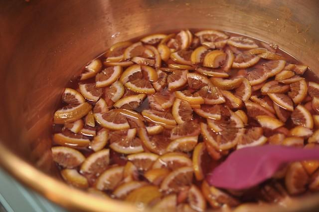 blood orange marm cooking