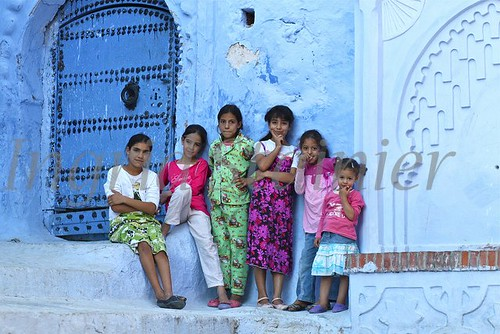 251. Only Girls, Chaouen, Morocco _
