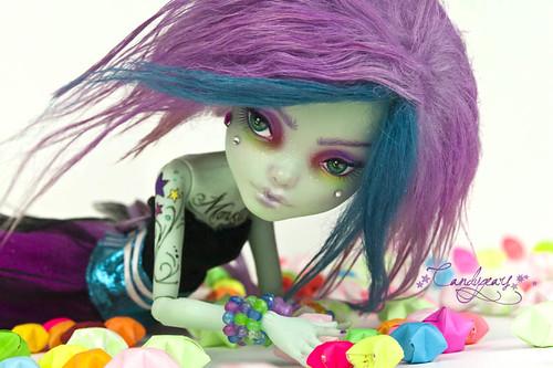 Crazy Neon Girl