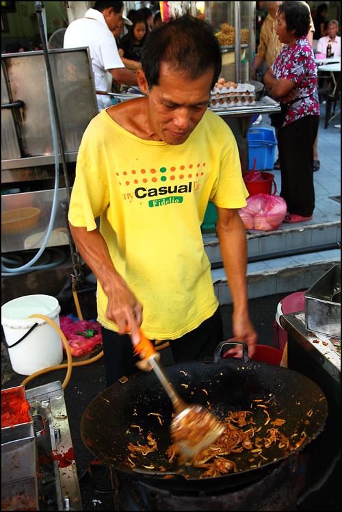 char-koay-teow-seller