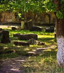 Старое кладбище в Эчмиадзине