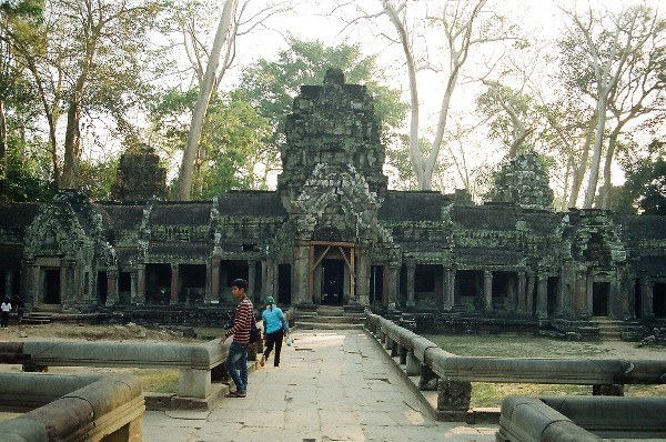 old temple, Siem Reap