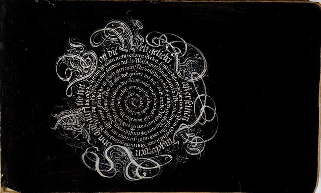 Kalligraphische Schriftvorlagen by Johann Hering