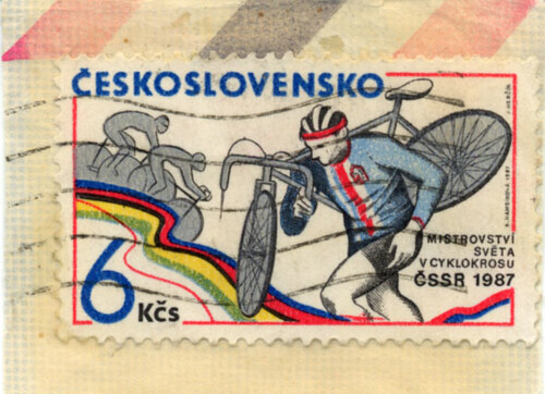 Cyclocross stamp