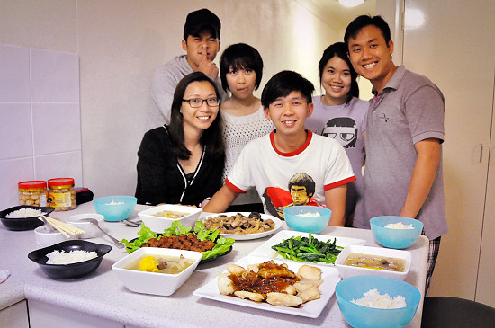CNY Day 2: Potluck with Friends
