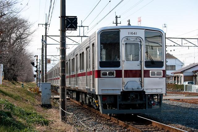 東武東上線10030系 11641F+11445F 津覇車輌出場回送