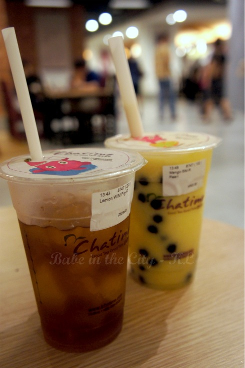 ChaTime drinks