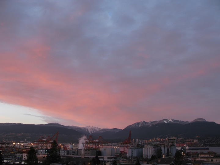 vancouver winter sunset 001