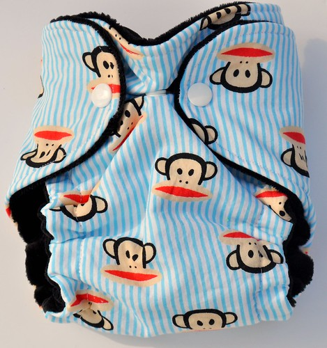 Bumstoppers Newborn Paul Frank  fitted CV